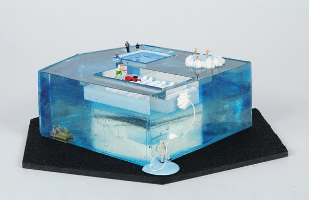 Recreation Room, ツー・ハン・ス, 2013年, ミクスドメディア, 160 x 160 x 90 mm