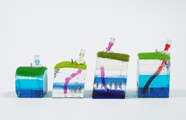 Breathing Underwater, ツー・ハン・ス, 2013年, ミクスドメディア, 150 x 80 x 100 mm
