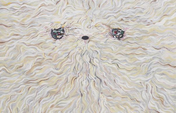 アニマルズ, SHUUN, 2014年, キャンバスにアクリル, 700 × 700 mm